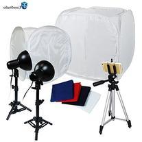 "Limostudio Table Top Photography 30"" 12"" Photo Tent Studio"