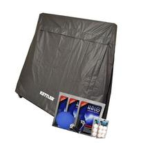 KETTLER Table Tennis Accessories Bundle: Cover, Racquets and