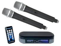 VocoPro TABLETOKE Digital Karaoke Mixer with Wireless Mics