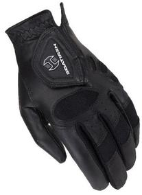 Heritage Tackified Pro-Air Show Gloves, Size 12, Black