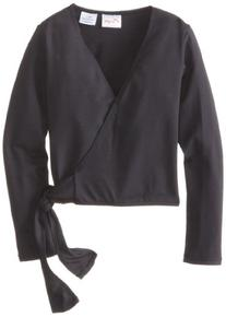 Capezio Little Girls' Tactel Collection Crossover Wrap Top,