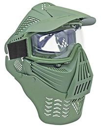 Tactical Airsoft Mask - Clear Goggles