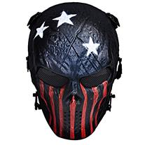 Coxeer Tactical Airsoft Mask Full Face Costume Mask Awesome