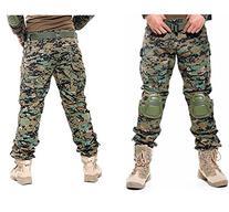 OSdream Tactical Pants With Knee Pads, Battle Strike Uniform