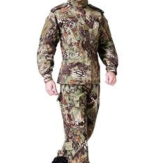 OSdream Outdoor Green Python Pattern Tactical Suit/Clothing/