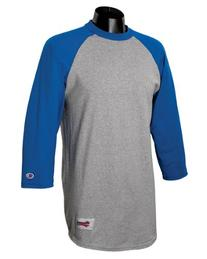 Champion - 6.1 oz. Tagless Raglan Baseball T-Shirt >> 3XL,