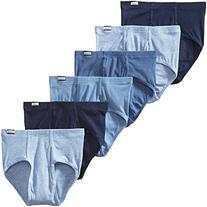 Hanes Men's 6 Pack Mid Rise Brief
