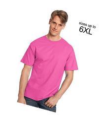 Hanes TAGLESS T-Shirt Wow Pink 3XL