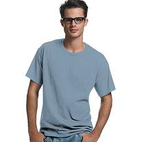 Hanes Adult Tagless T-Shirt - Light Blue