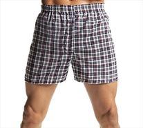 Hanes Men's TAGLESS Tartan Boxers with Comfort Flex