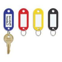 Steelmaster Key Tag with Label Window, 20 per Pack