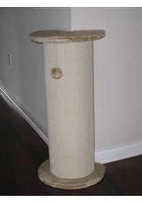 "Go Pet Club 29"" Tall Cat Scratching Post"
