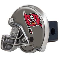 Tampa Bay Buccaneers Metal Helmet Trailer Hitch Cover