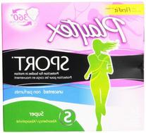 Playtex Sport Tampons with Flex-Fit Technology, Super,
