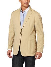 Tommy Hilfiger Men's Tan Soft Constructed Blazer,  Khaki,