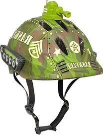 Raskullz Tank Transportz Helmet, Green