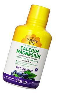 Country Life Target Mins Liquid Calcium Magnesium, Wild