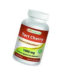 Best Naturals Tart Cherry Extract 1000 Mg Capsule, 120 Count