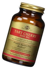 Solgar - Tart Cherry 1000 mg. - 90 Vegetarian Capsules