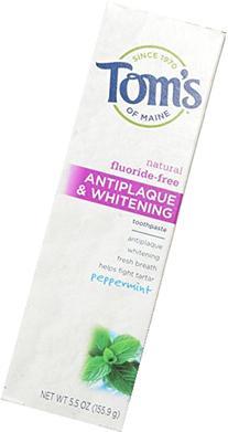 Tom's of Maine Antiplaque and Whitening Fluoride-Free