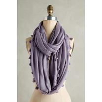 Anthropologie Tasseled Infinity Scarf