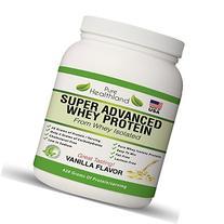 FAT FREE BEST TASTING Whey Protein Isolate Powder Vanilla