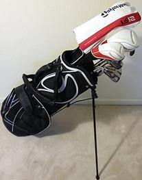 Mens Taylor Made Complete Golf Set Right Handed Regular Flex