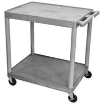 Luxor Tc22-G 2 Shelf Tub Cart