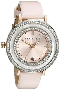 "Ted Baker Women's TE2124 ""Vintage Glam"" Crystal-Accented"