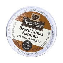 Peet's Coffee & Tea Coffee Brazil Minas Naturals K-Cup
