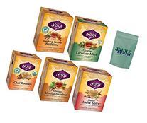 Yogi Tea Exotic Herbal Tea 5 Flavor Variety Pack