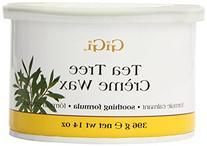 GiGi Tea Tree Creme Wax, 14 Ounce