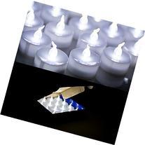 AGPtek® 24 PCS LED Tealights Battery-Operated flameless