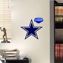 NFL Dallas Cowboys Logo Fathead Wall Decal, 11 x 12-inches