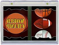 All Sports All Teams Vertical 2-Panel Ultra Pro Card Holder
