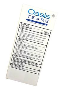 Oasis TEARS Original Lubricant Eye Drops Relief For Dry Eyes