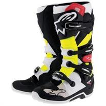 Alpinestars Tech 7 MX Offroad Boot Black/Red/Yellow 8
