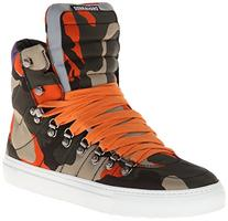 DSQUARED2 Men's Tecnico Hightop Fashion Sneaker,Camouflage,