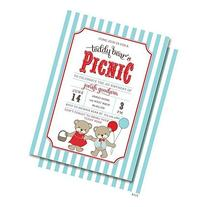 Teddy Bear's Picnic Invitations