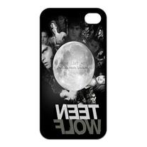 Teen Wolf Custom TPU Case Cover Protective Skin For Iphone 4