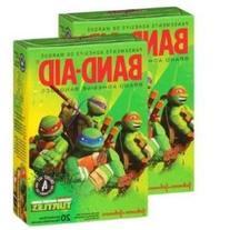 Band-aid Teenage Mutant Ninja Turtles Adhesive Bandages, 20
