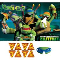 Teenage Mutant Ninja Turtles Party Game, Feed The Pizza to