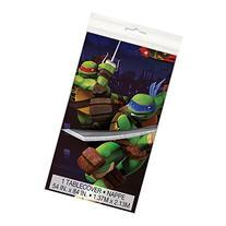 """Teenage Mutant Ninja Turtles Plastic Tablecloth, 84"""" x 54"""