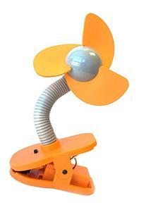 Dreambaby Tee-Zed Clip on Fan - Orange/Silver - 1 Count