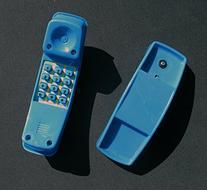 Telephone Blue Playset