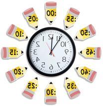 Eureka 'Telling Time' Bulletin Board Analog Clock Practice,