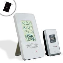 TempCAST Forecast Weather Station Alarm Clock with Outdoor