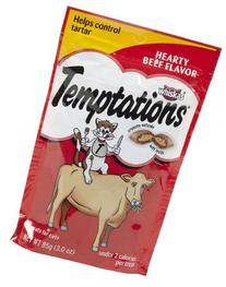 TEMPTATIONS Classic Treats for Cats Creamy Dairy Flavor 6.3