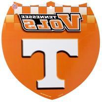 Tennessee Volunteers 8'' x 8'' Plastic Shield Sign