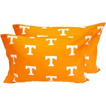 College Covers Tennessee Volunteers Pillowcase Pair - Solid